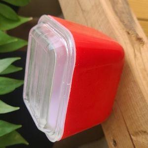 Red Pyrex Fridgie #501